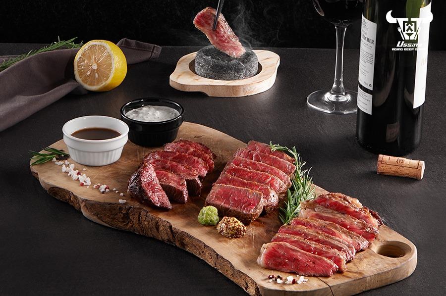 Thưởng thức món thịt bò hảo hạng tại nhà hàng sang trọng Ussina Sky 77
