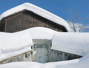 Căn hầm phủ tuyết trên các vùng núi cao của Niigata được dùng là tủ lạnh tự nhiên
