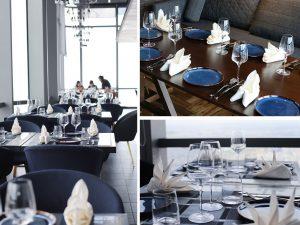 Không gian nhà hàng tổ chức tiệc sinh nhật cho bé thoáng đãng và ấm cúng