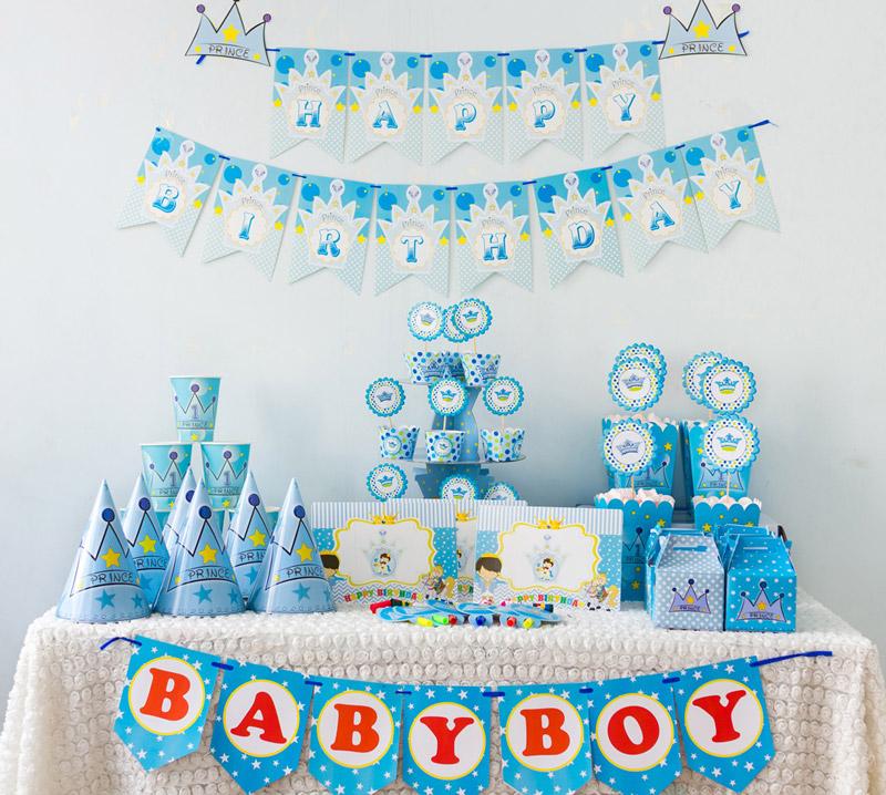 Tổ chức sinh nhật cho bé trai