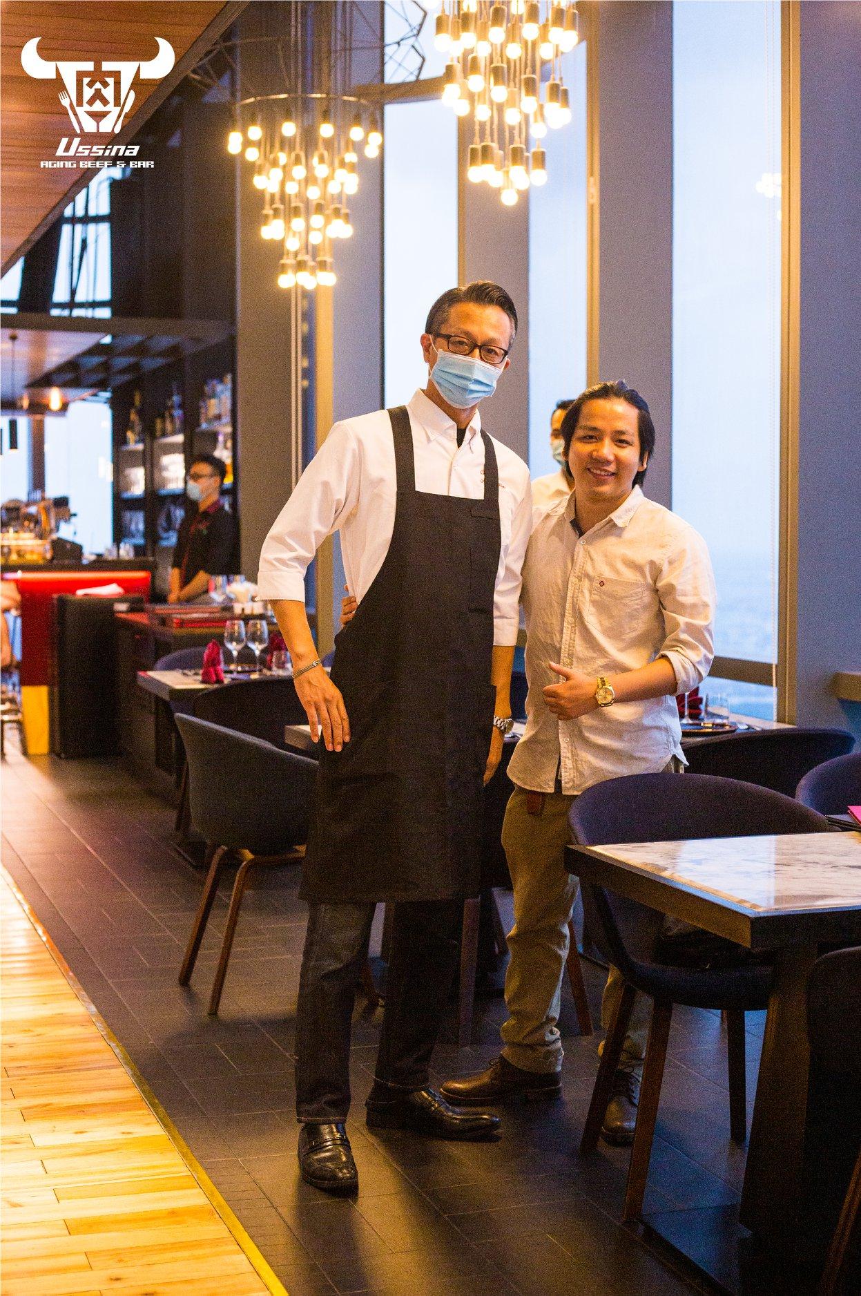 Nhà hàng sang trọng tại Sài Gòn