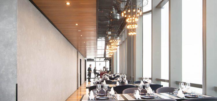 Nhà hàng trên cao view đẹp