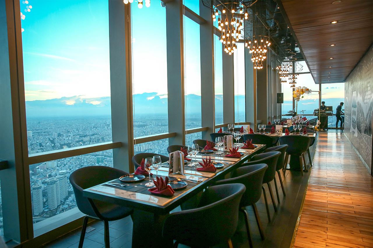 Nhà hàng tại Landmark 81
