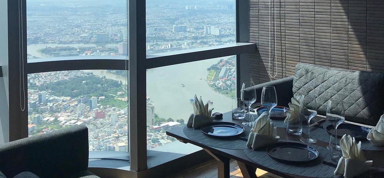 nhà hàng view đẹp sài gòn