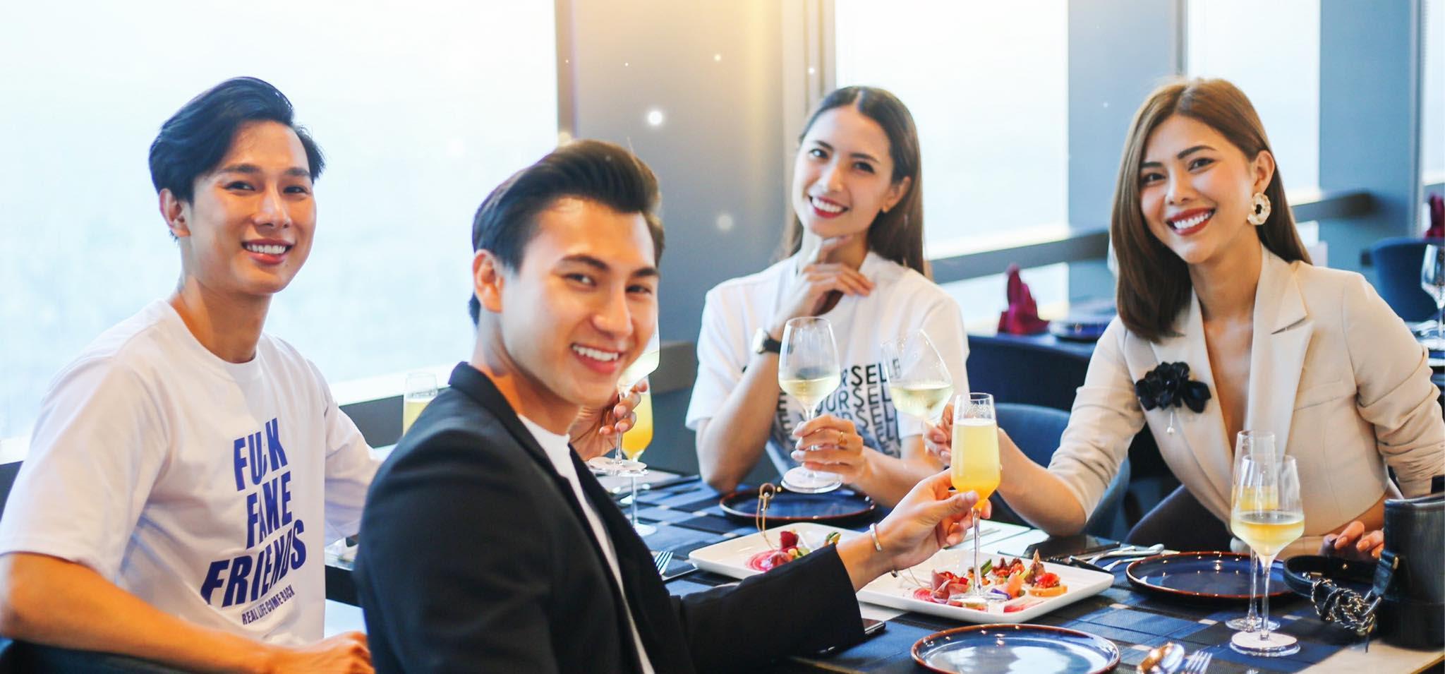nhà hàng hẹn hò