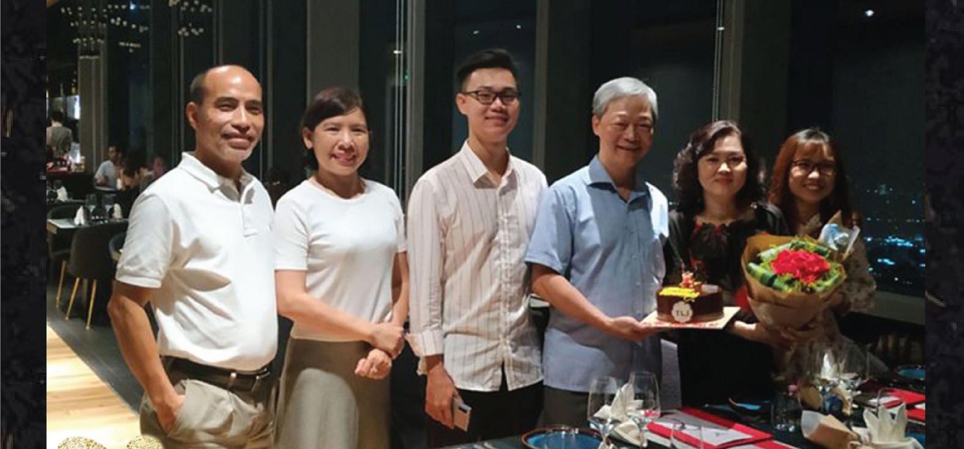 nhà hàng tổ chức sinh nhật