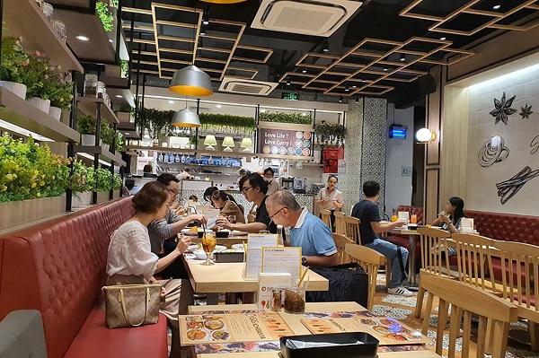 nhà hàng cà ri Nhật