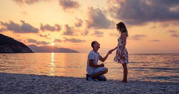 địa điểm cầu hôn lãng mạn